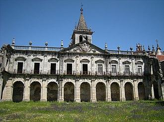 Monastery of Santa Maria de Pombeiro - Image: Mosteiro de Santa Maria de Pombeiro