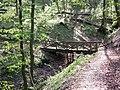 Mostek przy jeziorku Herty - panoramio.jpg