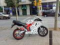 Moto tunejada a Sabadell.jpg