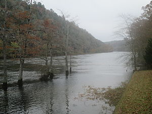 Mountain Fork - The Mountain Fork in McCurtain County, Oklahoma