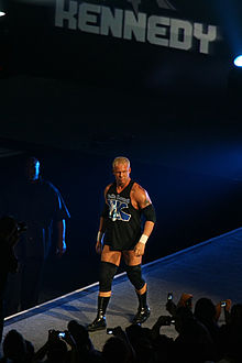 Kennedy making his ring entrance at a Raw house show in 2007.