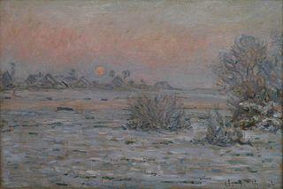 Soleil d'hiver à Lavacourt