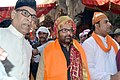 Mukhtar Abbas Naqvi visiting Dargah of Sufi Saint Hazrat Khwaja Moinuddin Chishti, Ajmer Sharif, to offer 'Chadar' on behalf of the Prime Minister, Shri Narendra Modi, in Rajasthan.jpg