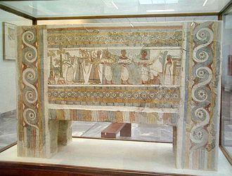 Hagia Triada - The famous Hagia Triada sarcophagus