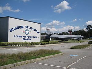 Warner Robins, Georgia - Museum of Aviation at Robins Air Force Base