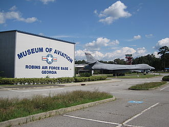Warner Robins, Georgia - Museum of Aviation at Robins Air Force Base