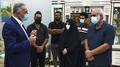 Mustafa Al-Kadhimi visit Riham Yacoub Family.png