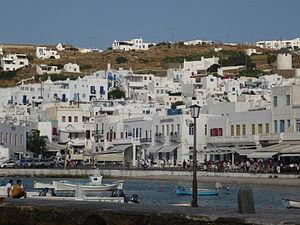 Mykonos - Mykonos town (Chora)