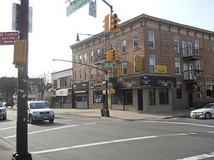 Glendale, Queens - Myrtle Avenue in Eastern Glendale.