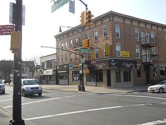 Glendale, Queens - Myrtle Avenue in Eastern Glendale.