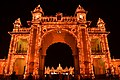 Mysore palace with night light show 2.jpg