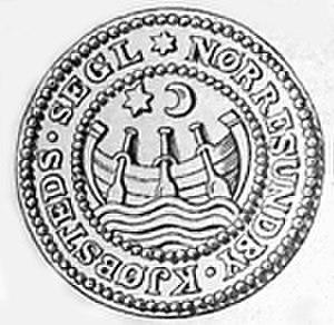 Nørresundby - Image: Nørre Sundbys segl