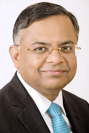 Natarajan Chandrasekaran - Image: N. Chandrasekaran CEO Tata Consultancy Services