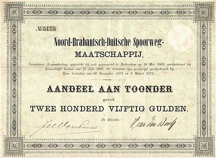 waarde certificaten van aandelen