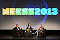 NECSS 2013 - Rationally Speaking Live with Michael Shermer Julia Galef and Massimo Pigliucci.jpg