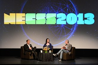 Massimo Pigliucci - Michael Shermer,  Julia Galef and Massimo Pigliucci record live at NECSS 2013