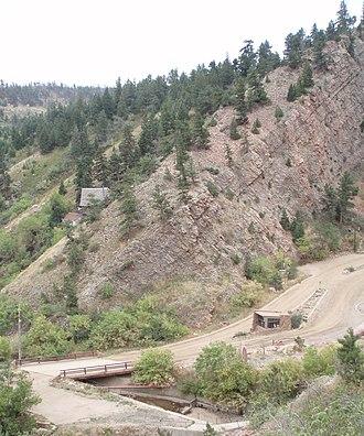 Eldorado Mountain - Image: NE Toe Eldorado Mtn