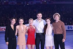 NHK Trophy 2013 Exibition Gold Medalists.jpg