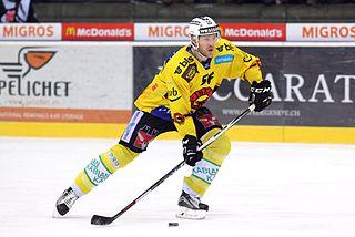 Timo Helbling Swiss ice hockey player