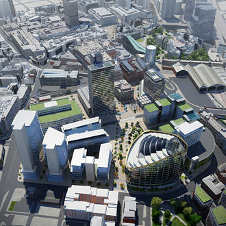 NOMA (Manchester) - Image: NOMA Manchester CGI overview