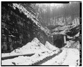NORTHERN PORTAL. - Board Tree Tunnel, Littleton, Wetzel County, WV HAER WVA,26-LIT.V,1-4.tif