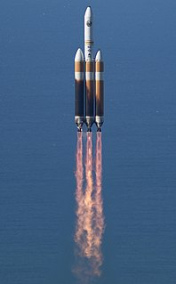 Delta IV Heavy variant of the Delta IV space launch vehicle