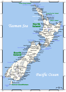 Geography of New Zealand - Wikipedia