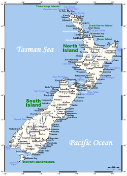 Geography of New Zealand Wikipedia