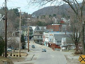Hardwick, Vermont - North Main Street