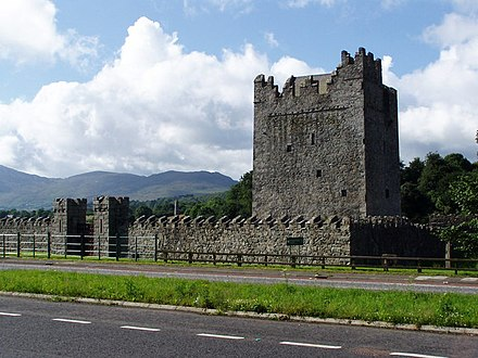 Narrow Water Castle Narrow Water Tower - geograph.org.uk - 494487.jpg