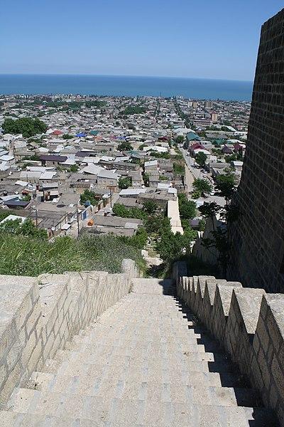 File:Naryn-kala fort. Derbent. Dagestan. Russia. Крепость Нарын-кала. Дербент. Дагестан. Россия - panoramio.jpg