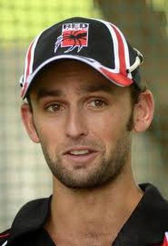 Nathan Lyon - Lyon in December 2009