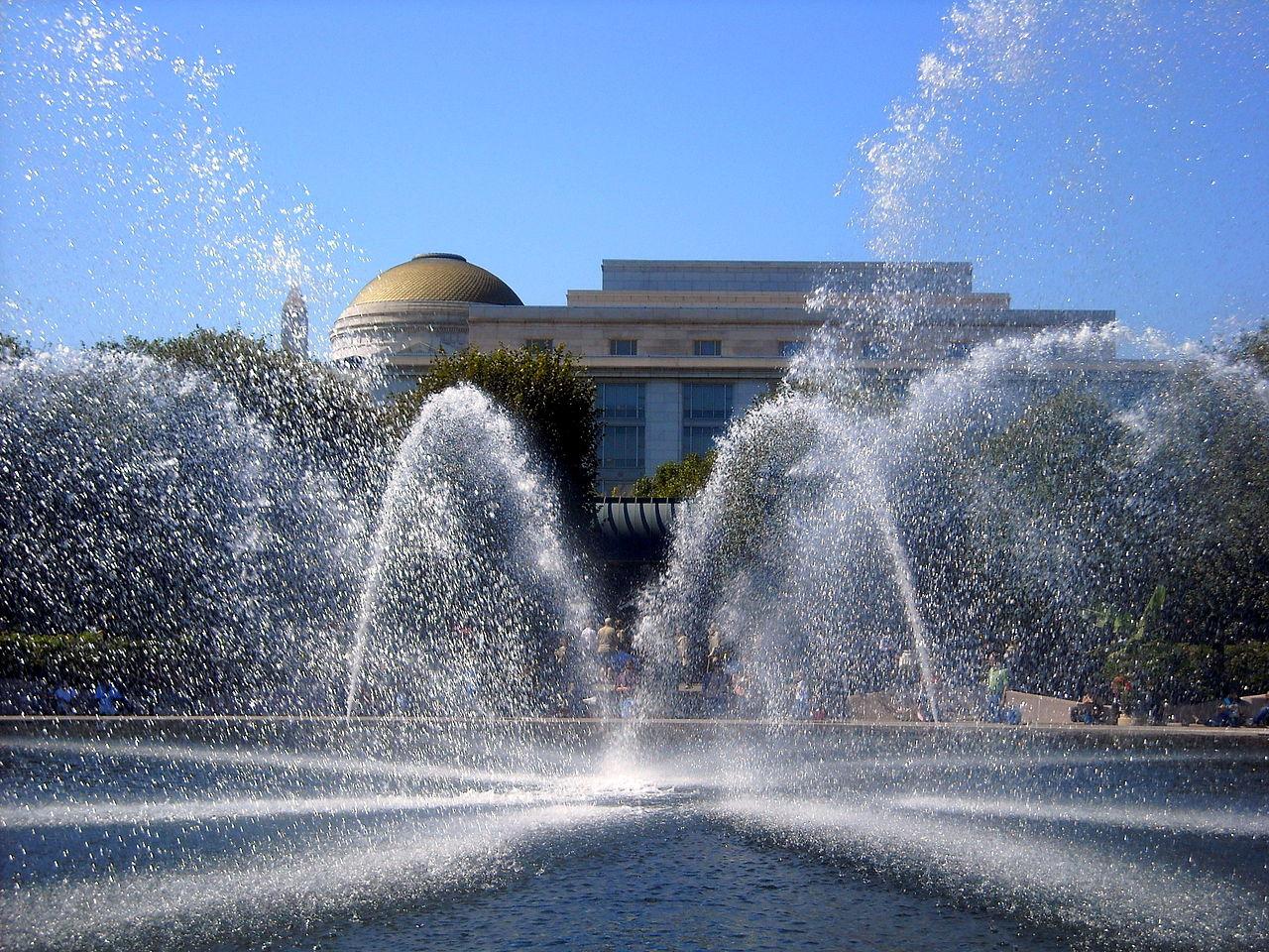 File National Gallery Of Art Sculpture Garden Fountain