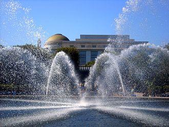 National Gallery of Art Sculpture Garden - Image: National Gallery of Art Sculpture Garden Fountain