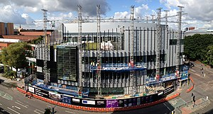 National Graphene Institute - The National Graphene Institute under construction in August 2014