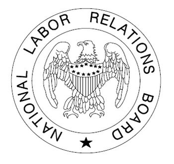 English: Black and white logo of the National ...