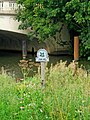 National Trust sign by the Wey Navigation, Woodbridge Bridge, Guildford - geograph.org.uk - 1449021.jpg