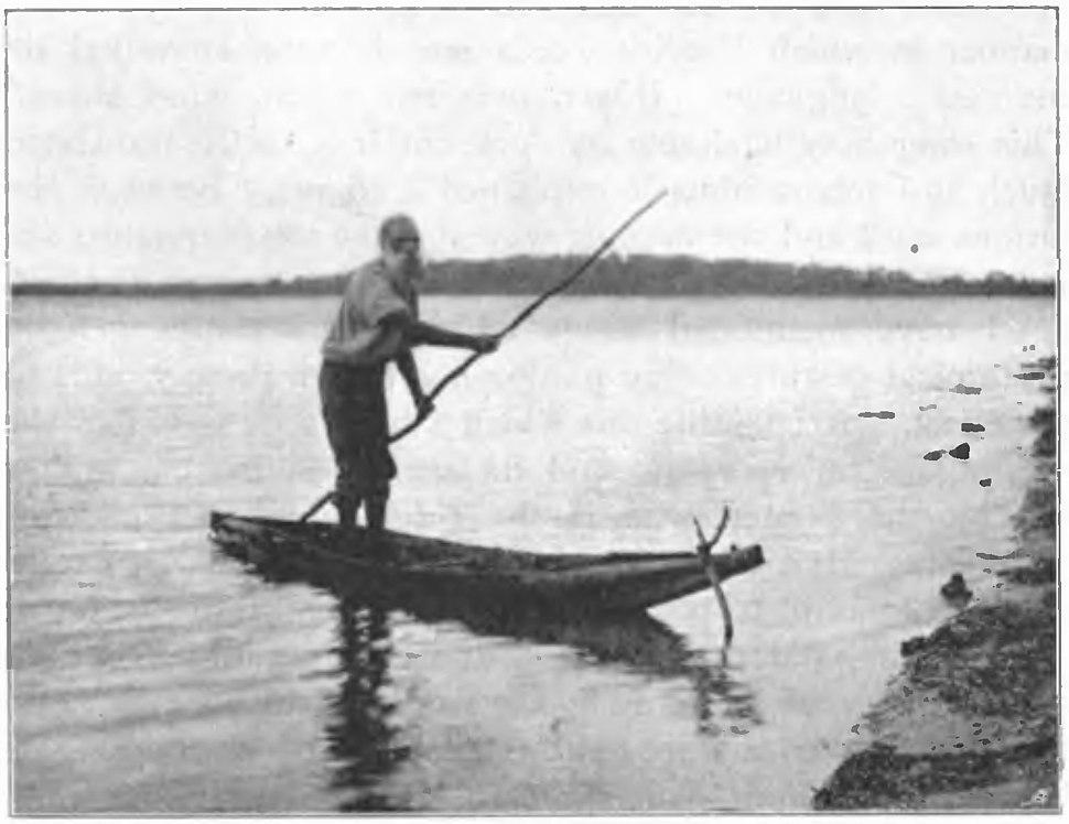Native tribes of South-East Australia Fig 24 - A Kurnai bark canoe