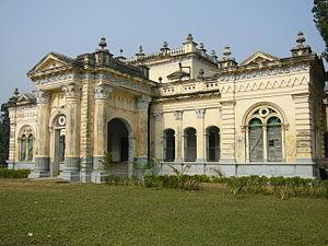 Zamindar of Natore - The ornate Natore Palace of the Ruling family of Rajshahi in Natore, Rajshahi, Bangladesh.