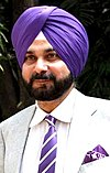 Navjot Singh Sidhu on the sets of Sony Max in 2012 (cropped).jpg