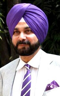Navjot Singh Sidhu Indian cricketer and politician
