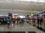 Near the check-in area in Hong Kong International Airport Terminal 1 01.jpg