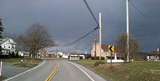 Belfast Township, Fulton County, Pennsylvania - Image: Needmore 2011