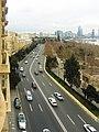 Neftçilər prospektinin Four Seasons Baku otelindən görünüşü.jpg