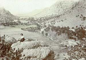 Bonita Canyon - Image: Neil Erickson Bonita Canyon Arizona Circa 1900