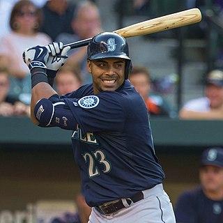 Nelson Cruz Major League Baseball outfielder for Seattle Mariners
