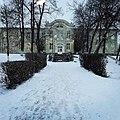 Neofit Rilski in the winter, Dolna Banya.jpg