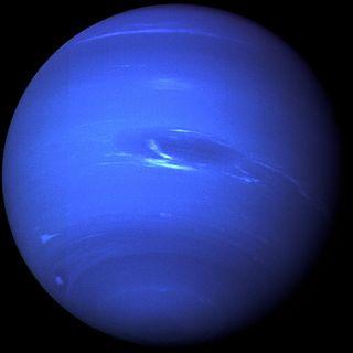 Neptun (Aufnahme: Voyager 2 Raumsonde)