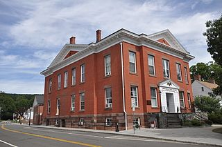 New Milford Center Historic District United States historic place