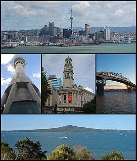 Auckland Metropolitan area in North Island, New Zealand